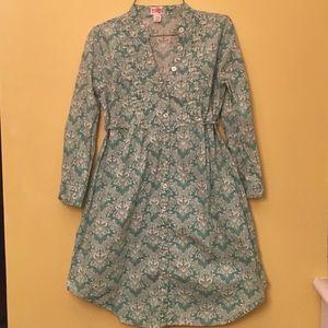 Jade Green Shirt Dress